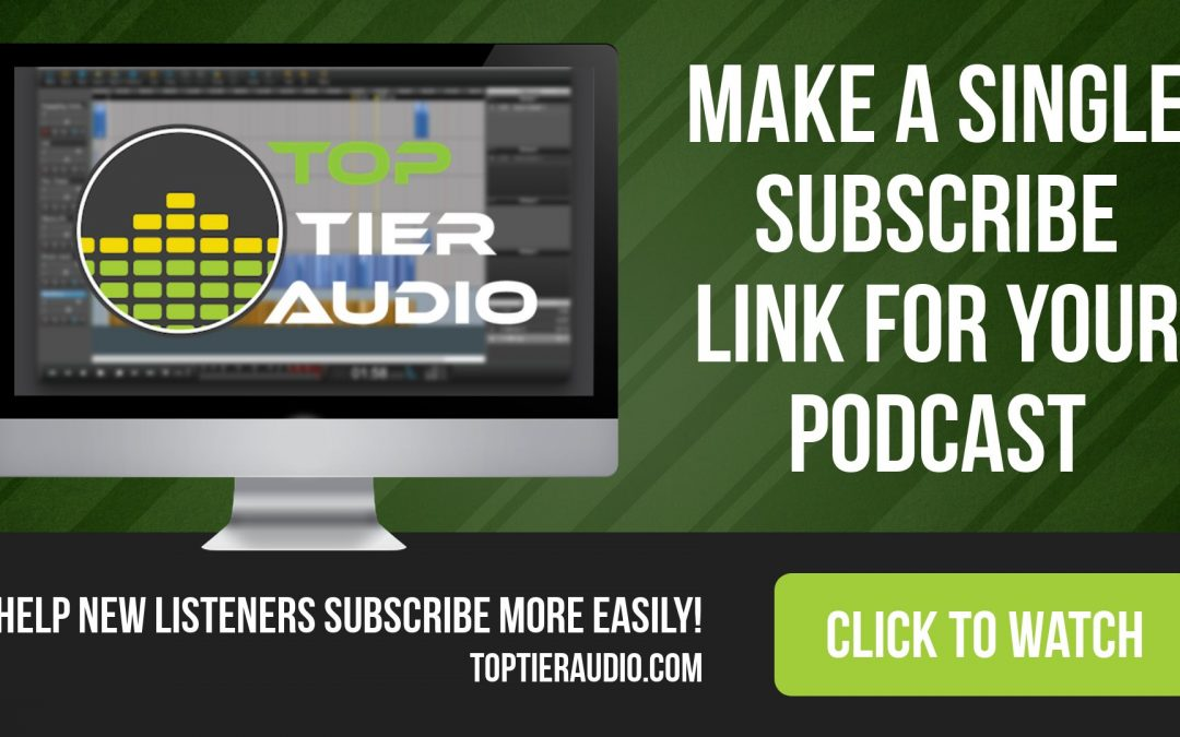 5 Minute Tutorial: One Podcast Link to Rule Them All