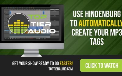 How to use Hindenburg to automatically create MP3 tags for your podcast