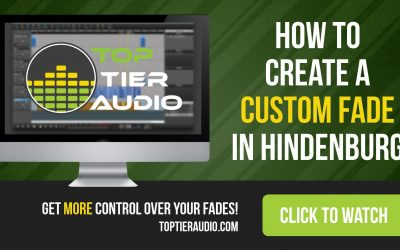 How to Create Custom Fades in Hindenburg